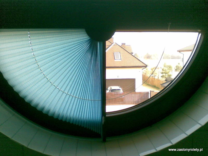 Plisy do okien nietypowych