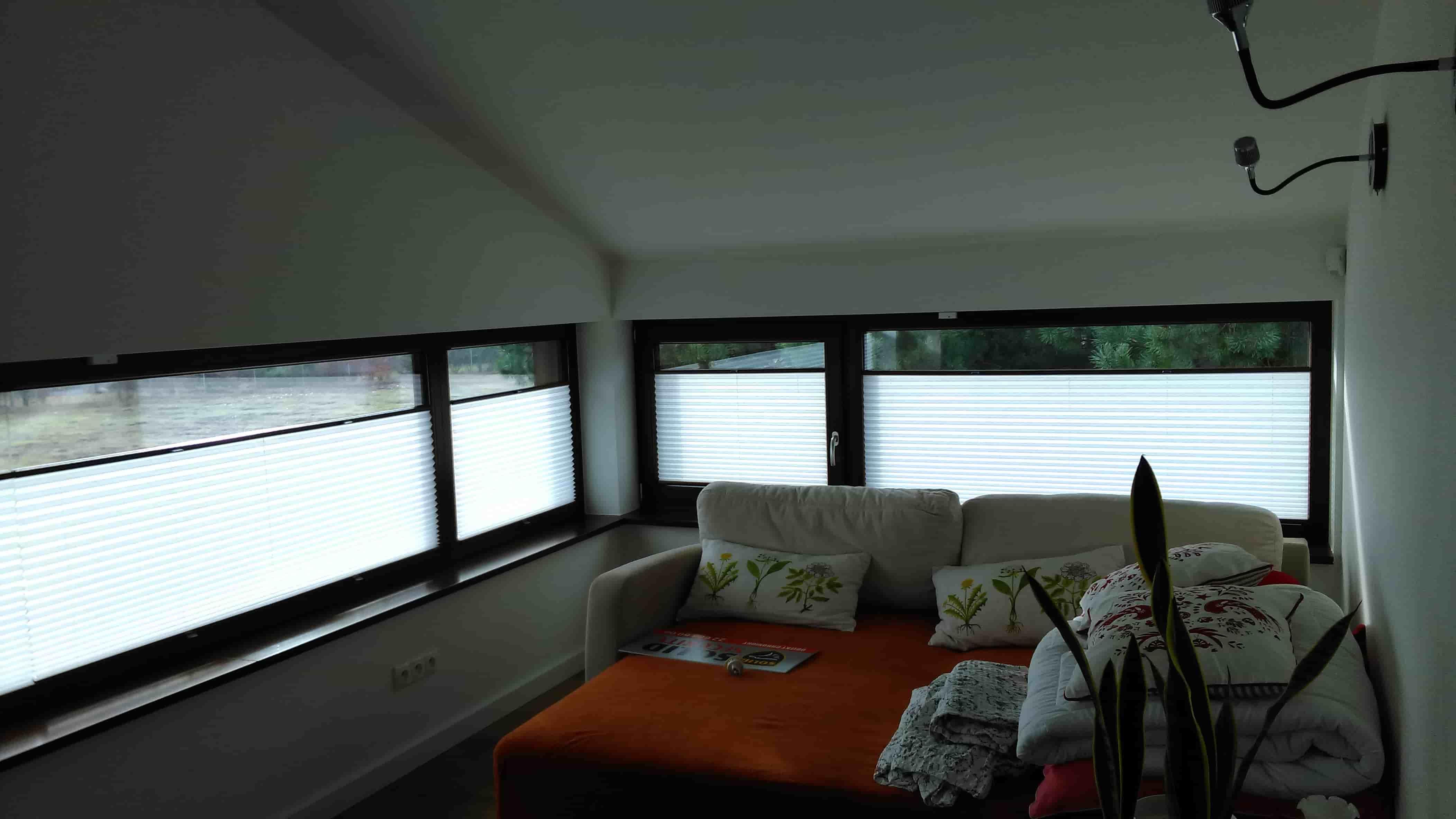 Plisy do okien typowych
